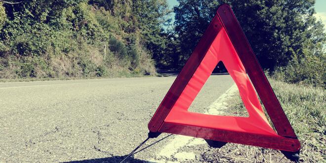trójkat ostrzegawczy